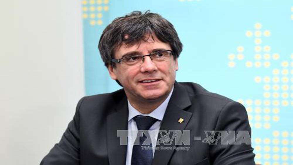 Tây Ban Nha, yêu cầu, truy nã toàn cầu, cựu Thủ hiến, Catalonia