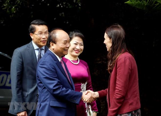 Thủ tướng, Nguyễn Xuân Phúc, hội đàm,Thủ tướng, New Zealand Ardern
