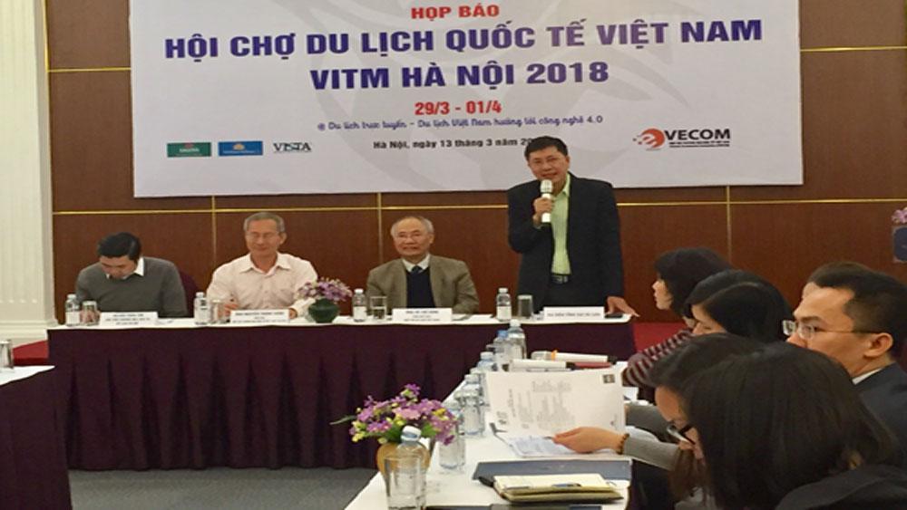 Hội chợ Du lịch quốc tế Việt Nam 2018: Giới thiệu 15.000 tour ưu đãi và 40.000 vé máy bay giá rẻ