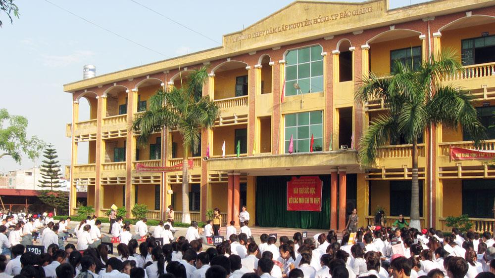 Chuyển Trường THPT Dân lập Nguyên Hồng sang loại hình tư thục