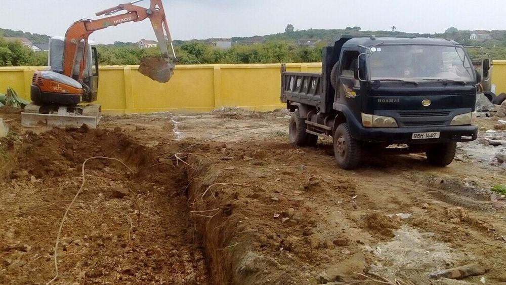Hợp Đức khởi công xây dựng phòng lớp học