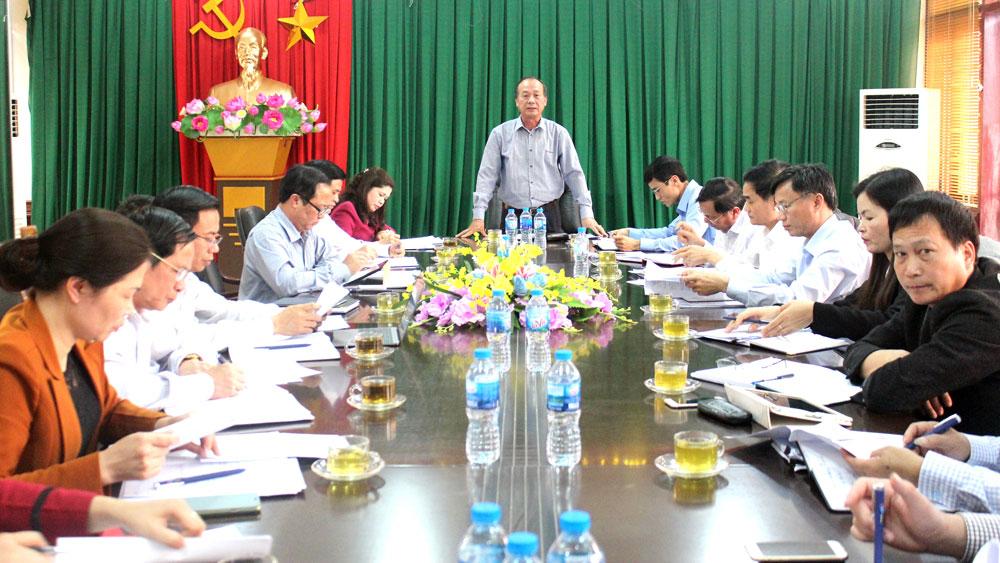 Phó Bí thư Thường trực Tỉnh ủy Thân Văn Khoa kiểm tra tình hình KT- XH tại huyện Tân Yên