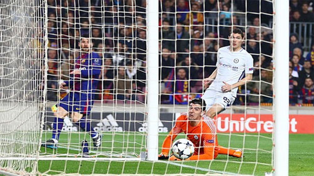 Thắng Chelsea 3-0, Barca vào tứ kết Champions League