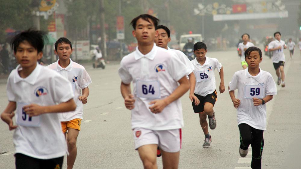 Hướng tới Giải việt dã Báo Bắc Giang lần thứ 37: Tích cực tập luyện,  quyết giành giải cao