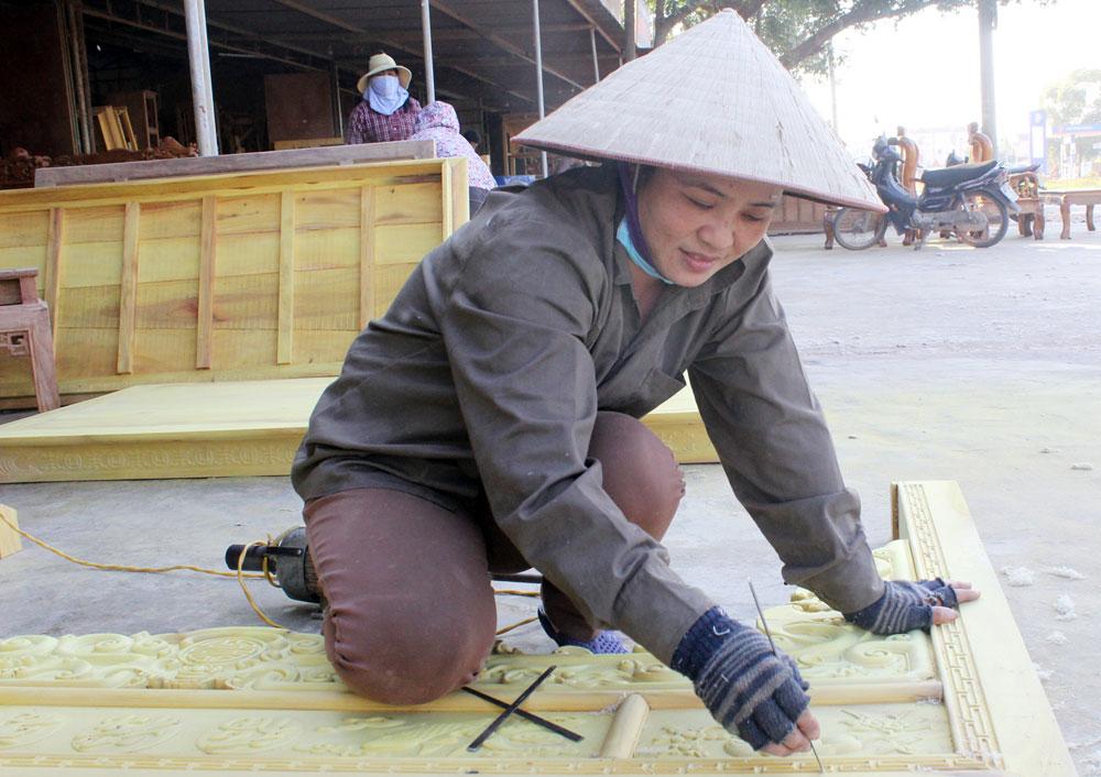 Công trình, làng nghề, ngóng thợ sau Tết, cai thầu,  xây dựng