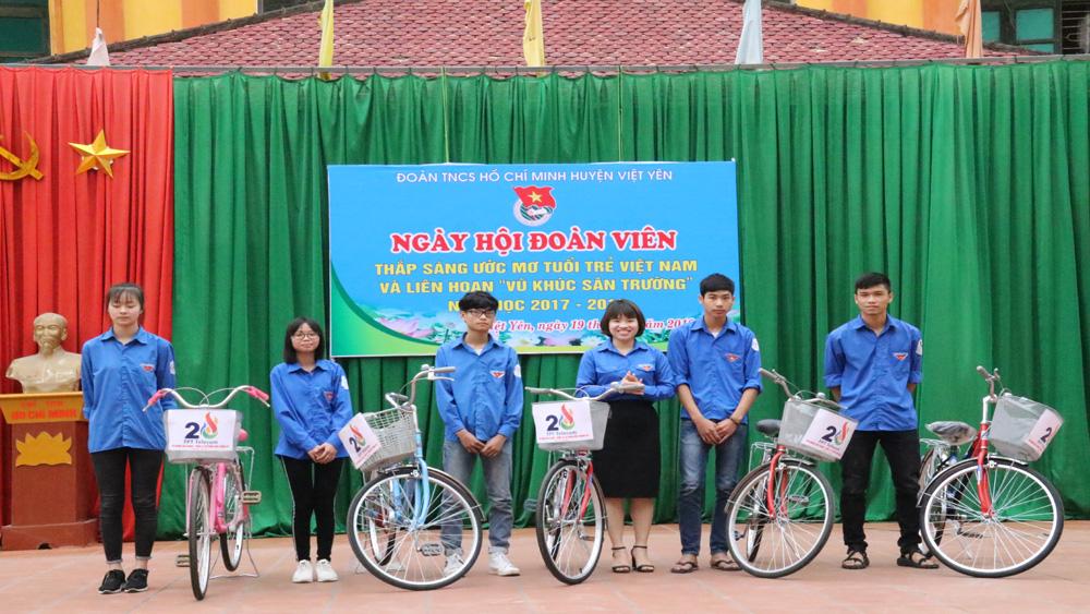 Ngày hội đoàn viên tại Trường THPT Việt Yên số 1