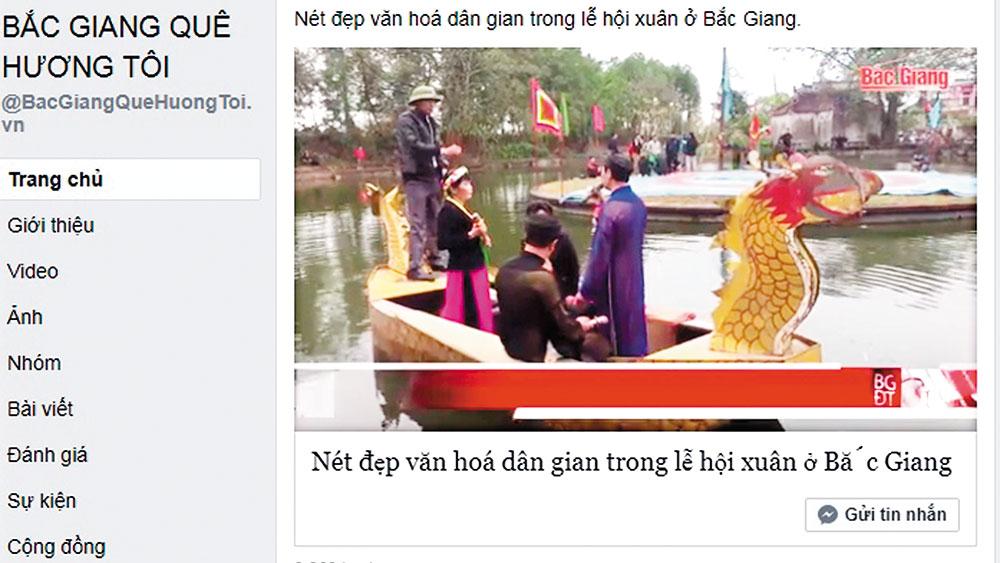 Tuổi trẻ Bắc Giang: Quảng bá hình ảnh quê hương đến bạn bè trong và ngoài nước