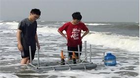 Hai học sinh Trường THPT Chuyên Phan Bội Châu giành giải nhất thi khoa học