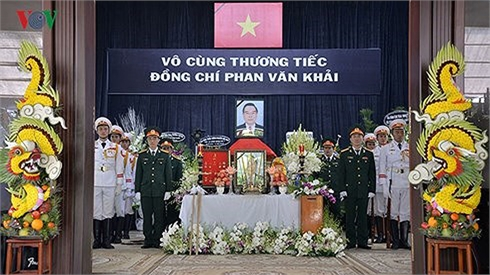 Lễ viếng nguyên Thủ tướng Phan Văn Khải theo nghi thức Quốc tang