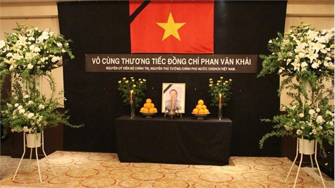 Late PM Phan Van Khai remembered abroad