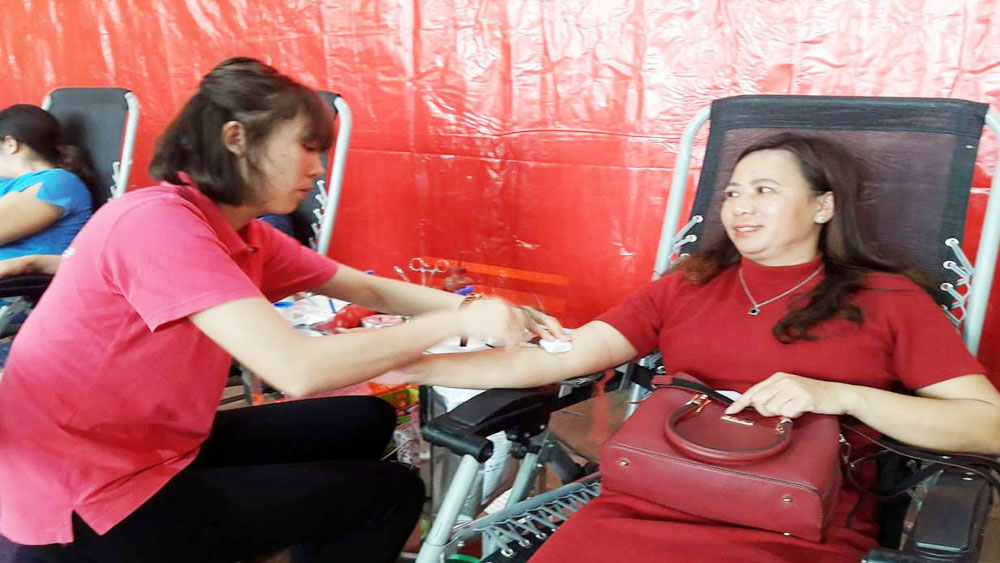 2018 Red Spring Festival receives about 5,600 blood units