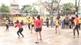 Chơi bóng chuyền hơi: Có sức khỏe, thêm niềm vui