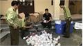 Bắc Giang: Tiêu hủy mỹ phẩm nhập lậu