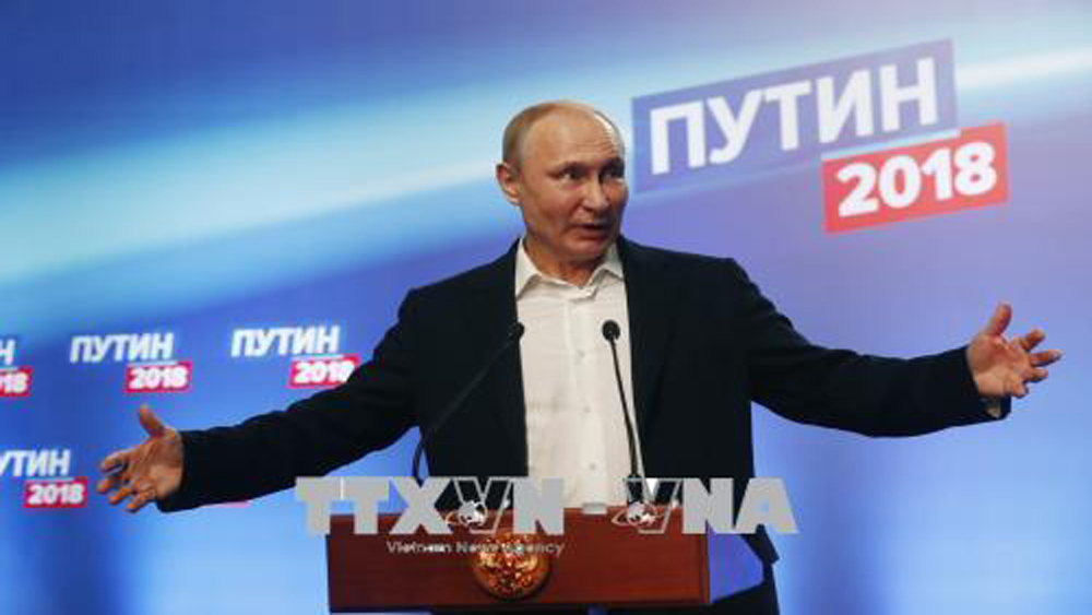 Bầu cử Tổng thống Nga: SIK chính thức thông qua kết quả bầu cử