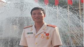 """Anh Phùng Thế Sơn được trao giải thưởng """"Thanh niên Công an tiêu biểu"""" toàn quốc"""