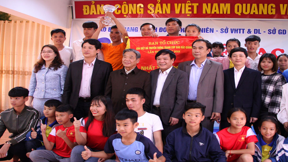 Báo Bắc Giang, Việt dã, 2018
