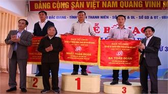 Lạng Giang giành lại ngôi vô địch toàn đoàn