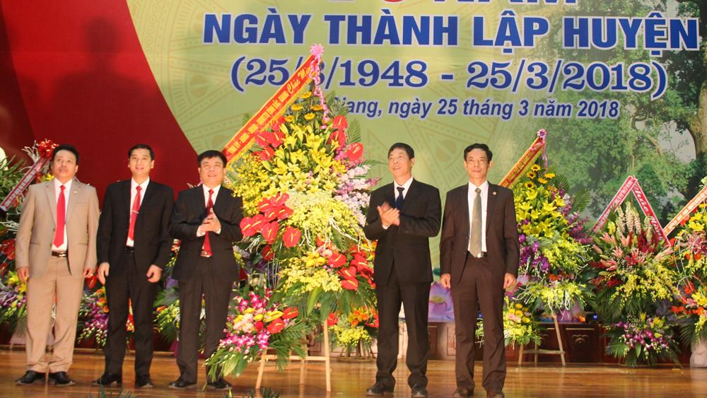 Lạng Giang kỷ niệm 70 năm Ngày thành lập huyện 25-3