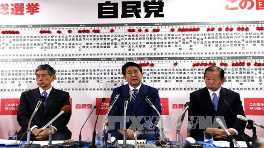 Đảng cầm quyền Nhật Bản cam kết tìm cách thay đổi Hiến pháp hòa bình