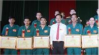 Nguyễn Đức Thiện: Chỉ huy trưởng quân sự xã gương mẫu, trách nhiệm