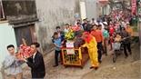 """Độc đáo lễ rước """"ông Lang"""" ở làng Tân Phượng"""