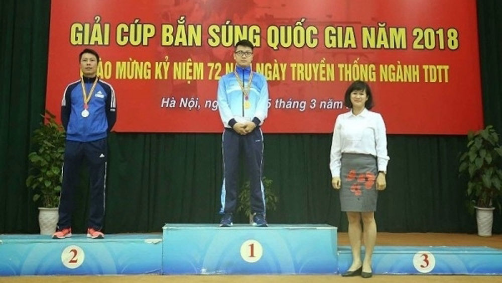 Eight new records established at National Shooting Cup