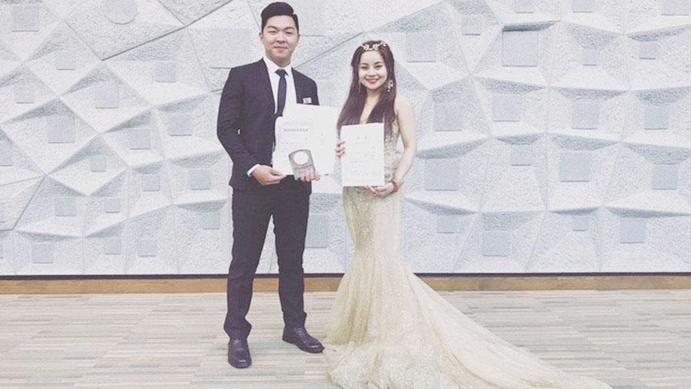 Vietnamese student shines Kyushu Music Concour 2018
