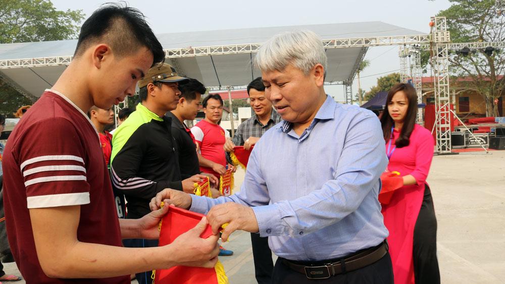 Khai mạc Giải vô địch đẩy gậy tỉnh Bắc Giang năm 2018