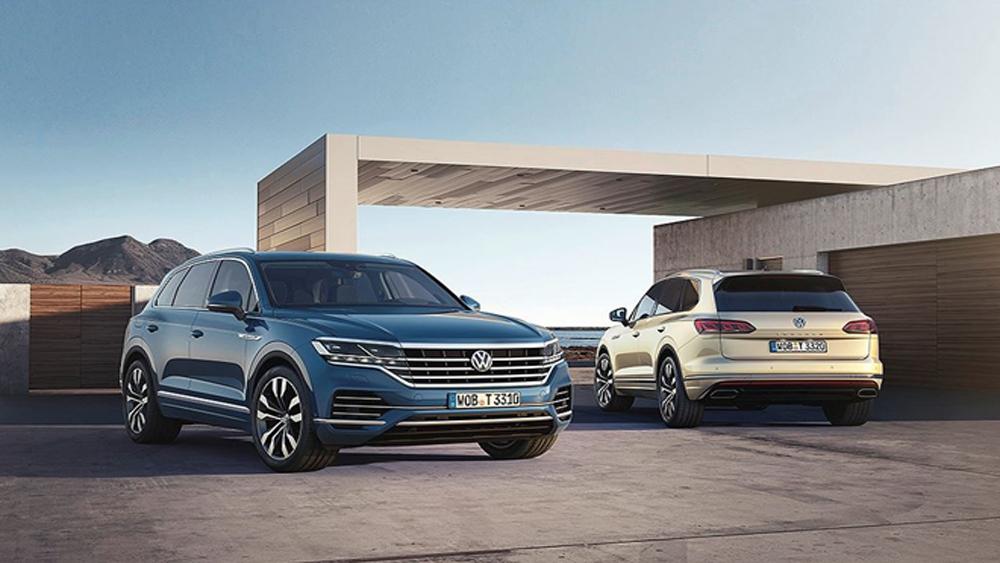 Volkswagen trình làng Touareg thế hệ mới