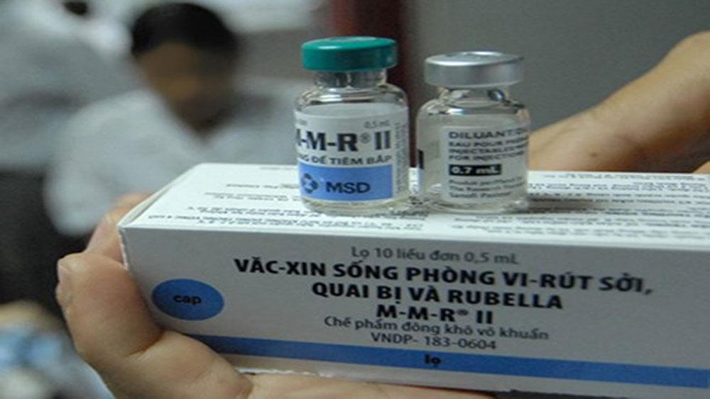 Vaccine phòng bệnh Sởi- Rubella sẽ được đưa vào Chương trình tiêm chủng mở rộng