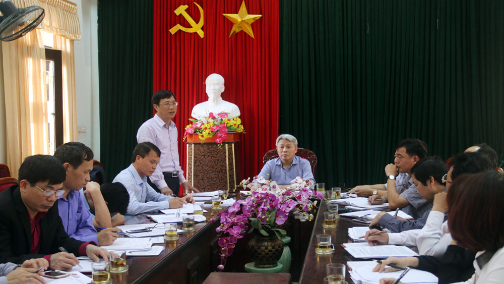 HĐND tỉnh giám sát việc bảo đảm ANTT tại huyện Lạng Giang