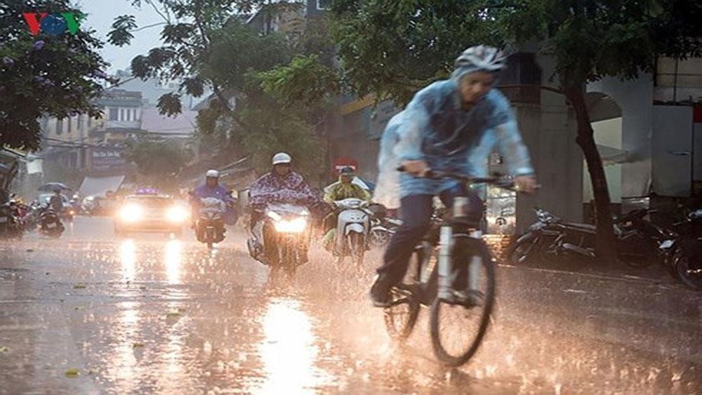 Hà Nội và miền Bắc mưa trên diện rộng