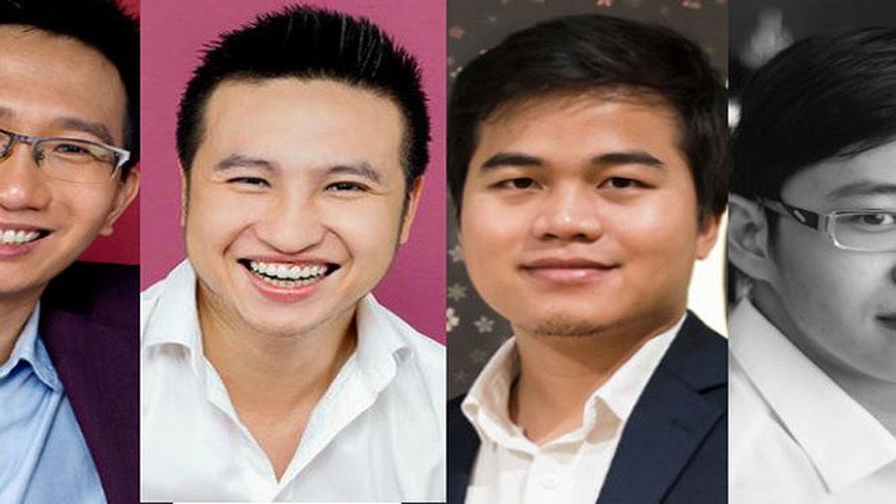 4 thanh niên Việt Nam lọt danh sách những gương mặt dưới 30 tuổi nổi bật nhất châu Á