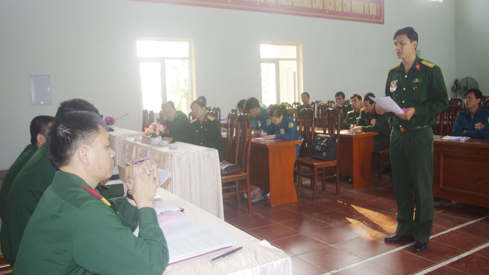 Thi cán bộ giảng dạy chính trị cấp huyện năm 2018