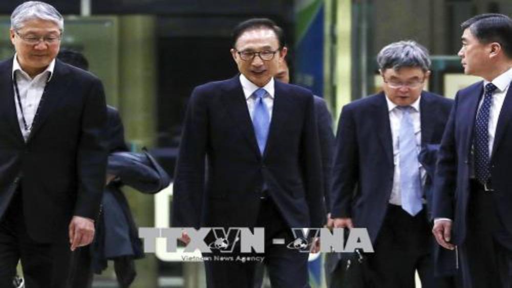 Hàn Quốc truy tố 3 quan chức thời cựu Tổng thống Lee Myung-bak