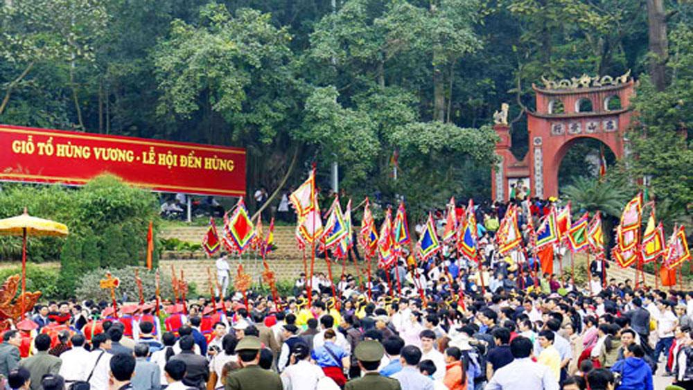 Giỗ Tổ Hùng Vương - Lễ hội Đền Hùng năm 2018 diễn ra trong 5 ngày