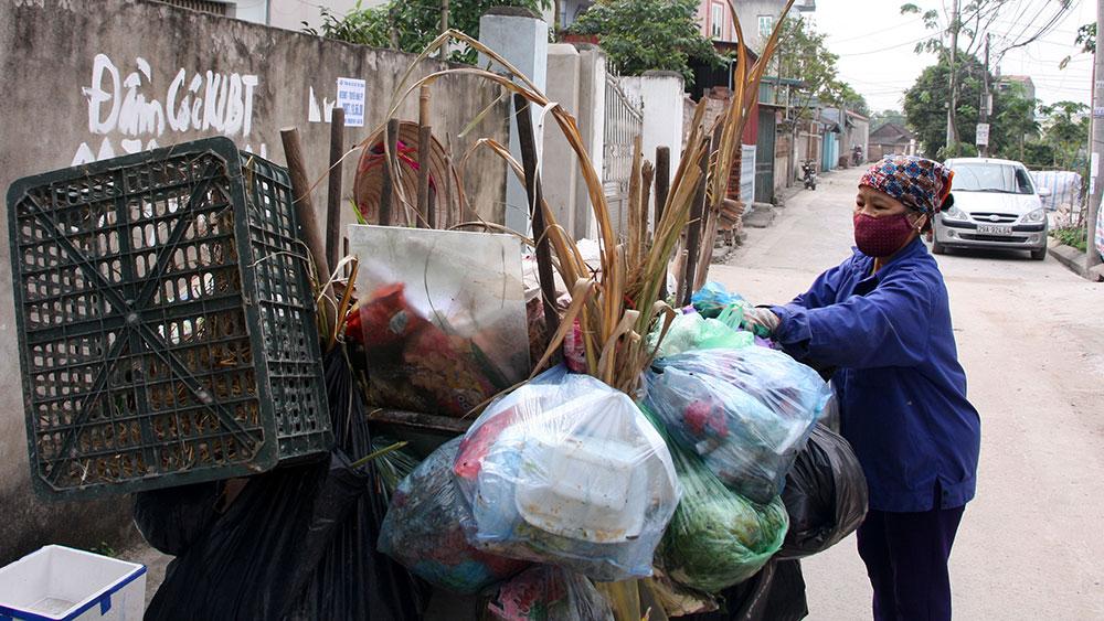 Thu gom, vận chuyển, xử lý rác thải: Giảm dần hỗ trợ từ ngân sách