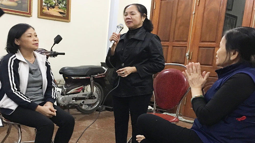 ba vai, Lê Thị Minh Thuận, phong trào, phụ nữ, TP Bắc Giang