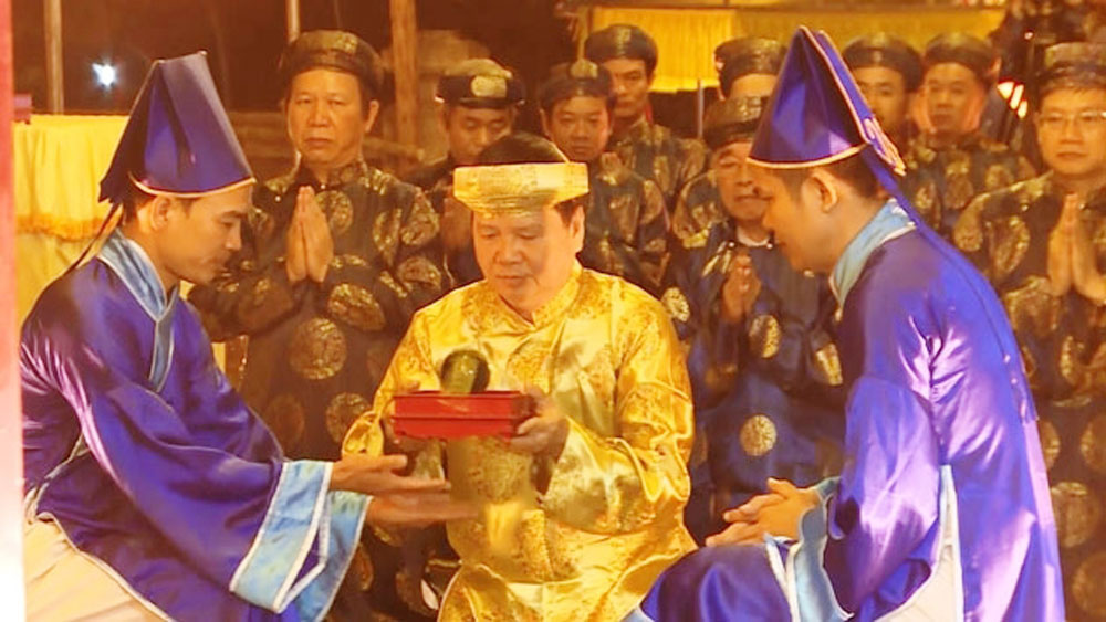Royal ritual prays for bumper crops, prosperity