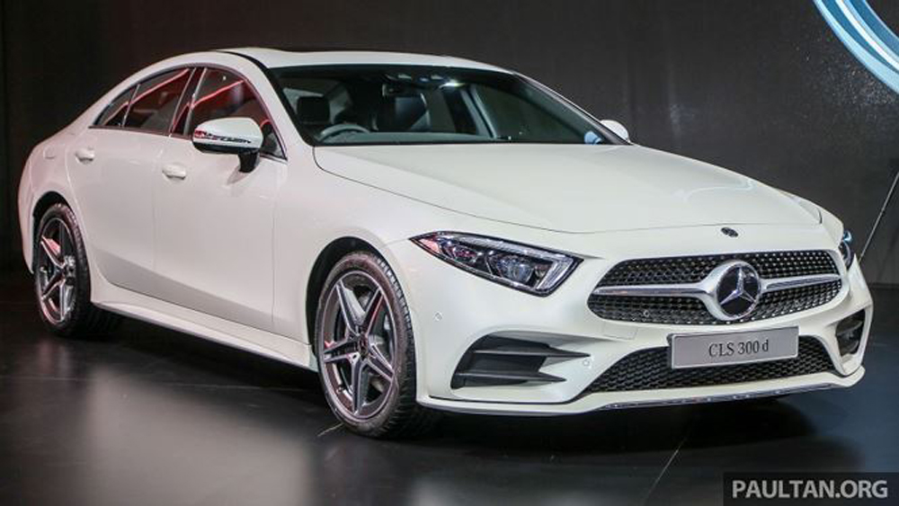 Mercedes-Benz CLS 2019 ra mắt với giá 3,6 tỷ đồng