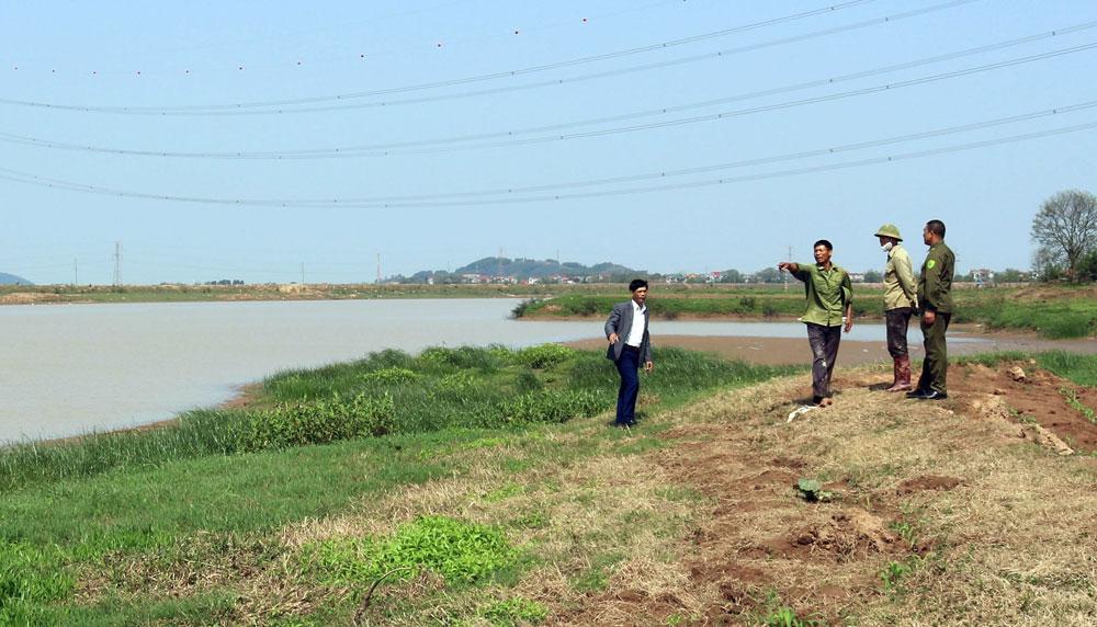 Tiếng than,  dòng sông, sông Lục Nam, khai thác  cát trái phép