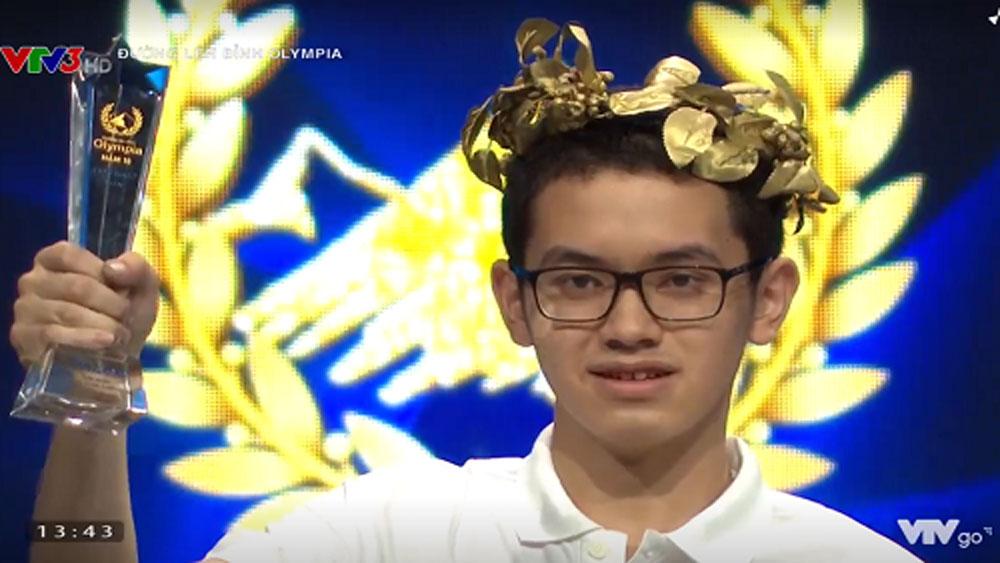 Nam sinh Quảng Ninh lập kỷ lục phần Khởi động ở Olympia
