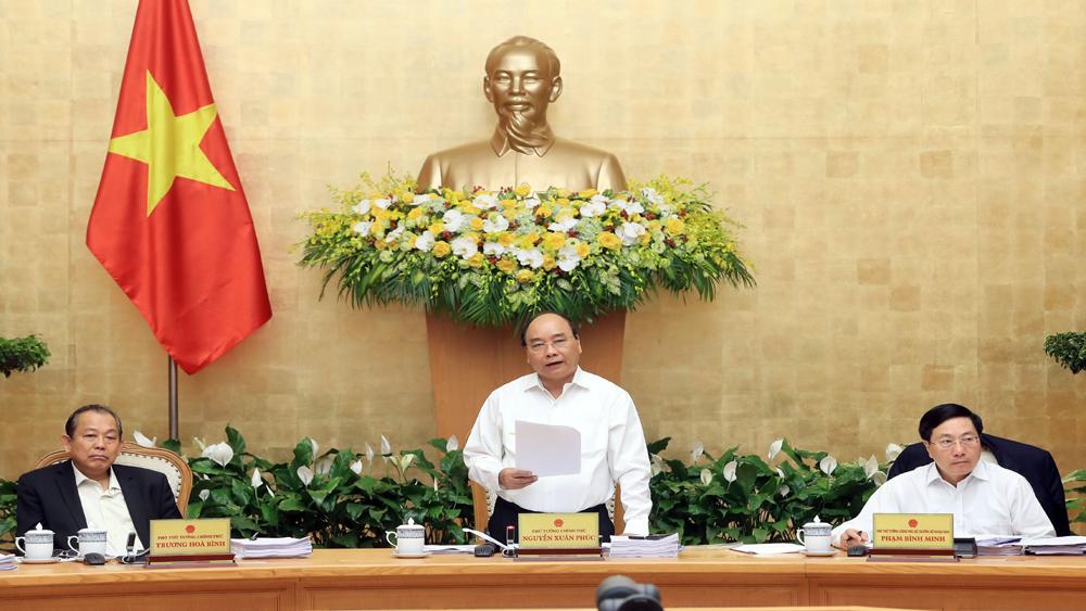 Thủ tướng Nguyễn Xuân Phúc: Phấn đấu đạt mức tăng trưởng 6,7% năm 2018