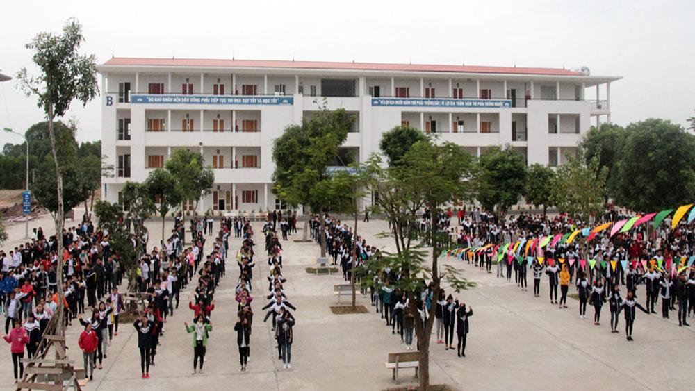 Toàn tỉnh Bắc Giang có 61 điểm tiếp nhận hồ sơ đăng ký dự thi THPT quốc gia