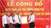 Công bố Quyết định của Thủ tướng Chính phủ công nhận Bia hộp đá Đồi Cốc là Bảo vật quốc gia