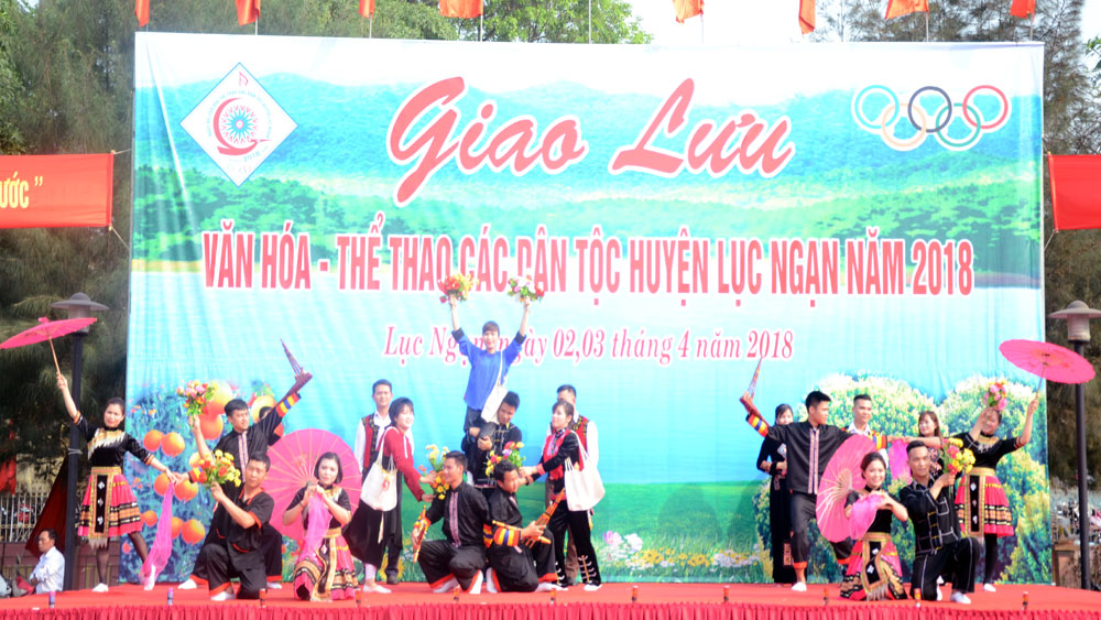 Giao lưu văn hóa -thể thao các dân tộc huyện Lục Ngạn