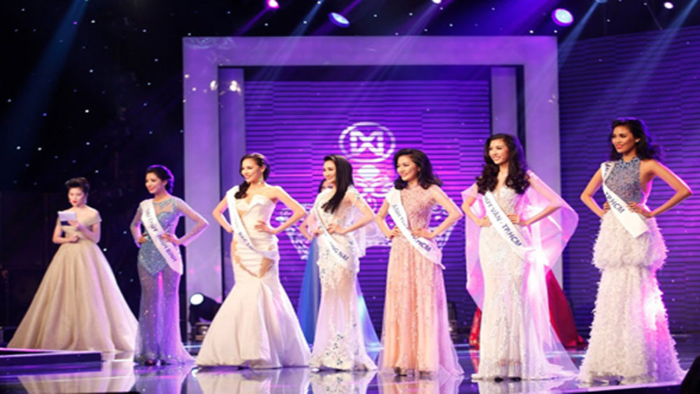 Người đẹp vào top 10 cuộc thi nhan sắc trong nước có thể được thi quốc tế