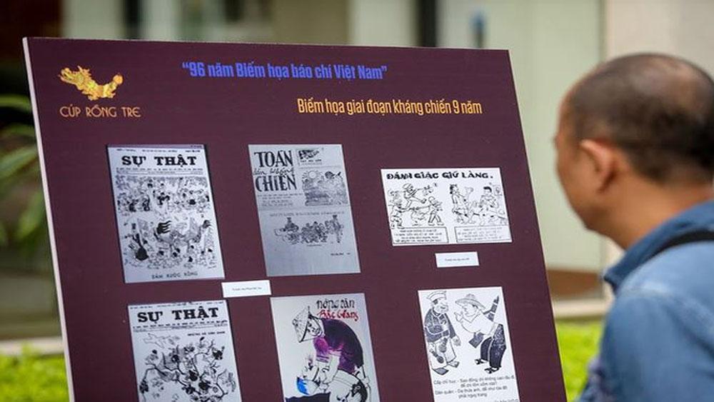 Phát động Giải Biếm họa báo chí Việt Nam lần V-2018