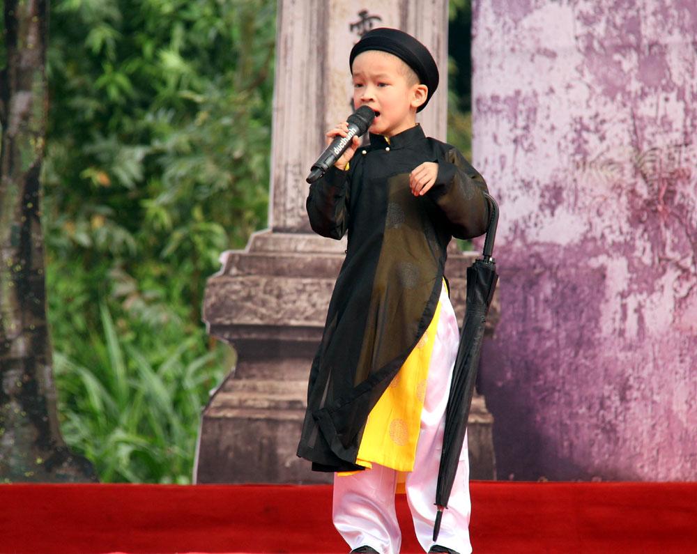 Bổ Đà, Việt Yên, 300 liền anh, liền chị,  tham gia,  liên hoan,  hát quan họ