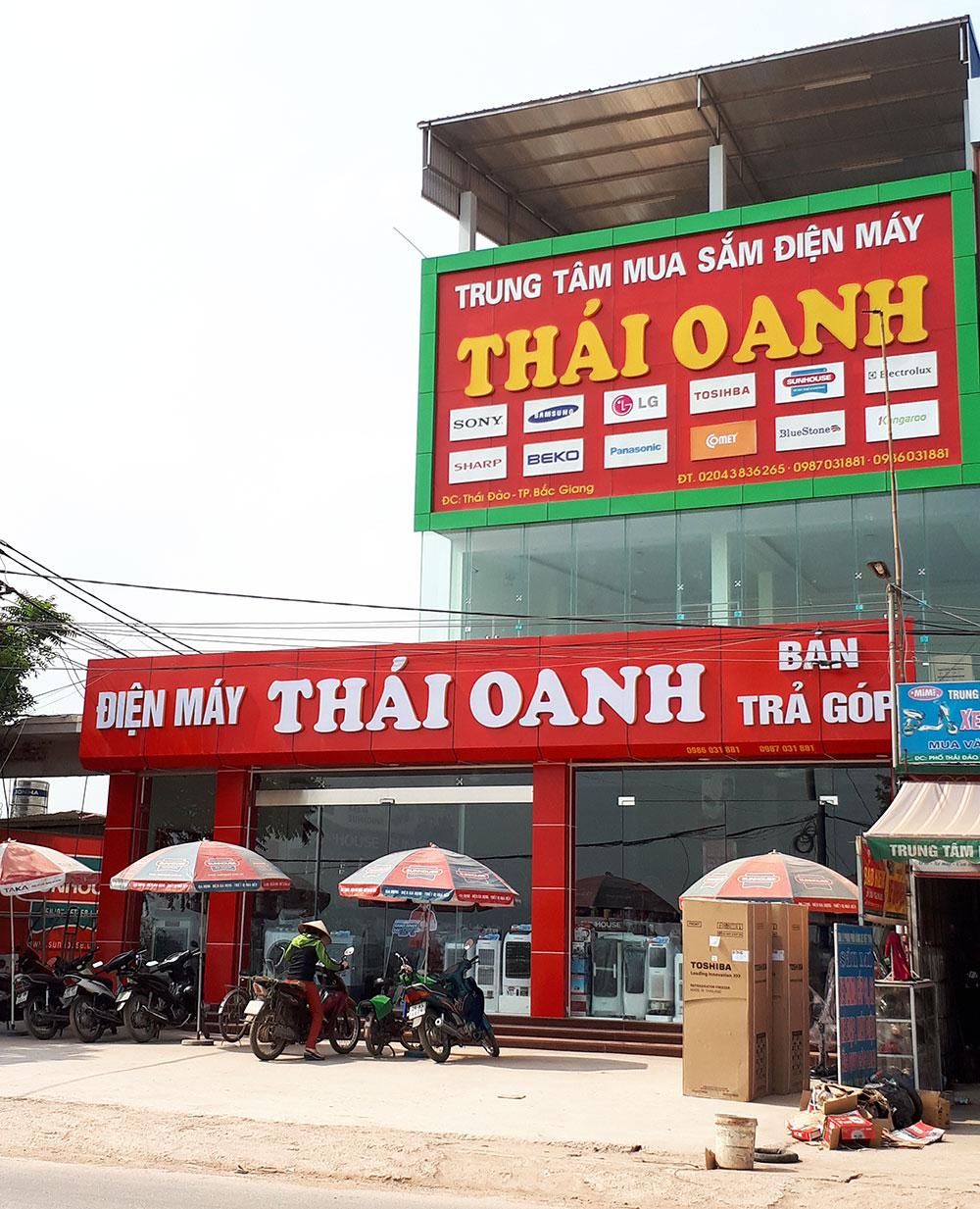 Xã Thái Đào, Lạng Giang, hộ dân, xây công trình trái phép trên đất công